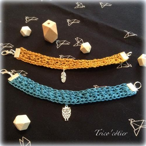 Duo de bracelets étoilés ! Tuto ! SC n°249