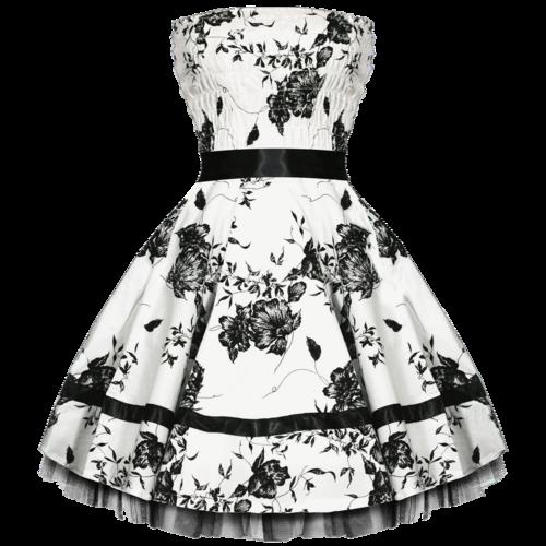 Tubes : Jolies robes noires et blanches