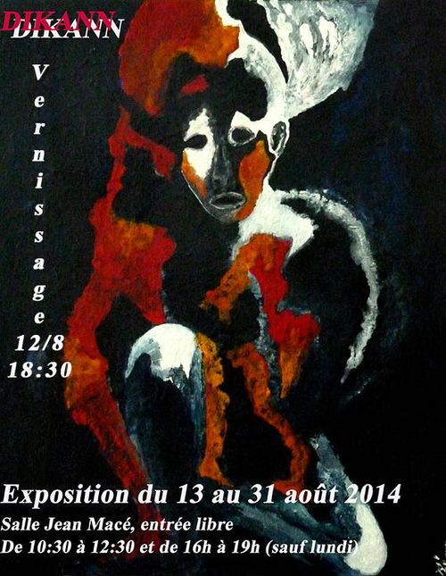 Exposition DIKANN à Pornic 2014