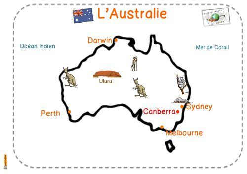 Tour du monde période 4 : l'Australie