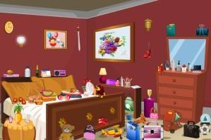 Bed room - Hidden objects