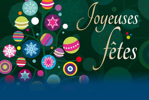 Joyeuses fêtes à tous !!!!