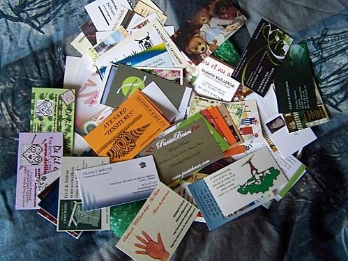 cartes de visite jocelyne