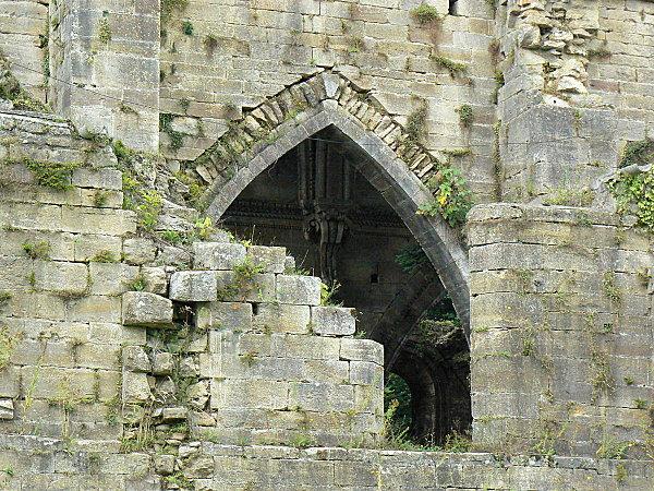 Trois Fontaines l'abbaye détail