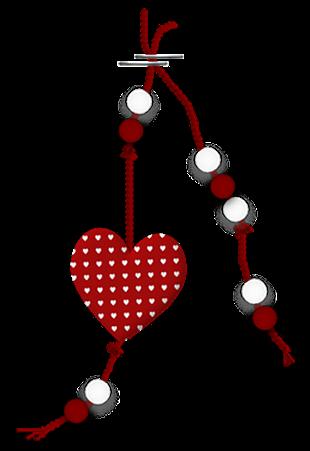 Ornements Saint-Valentin Série 6