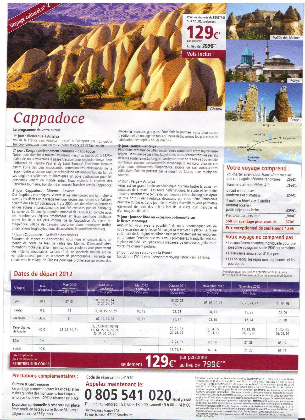 circuit cappadoce