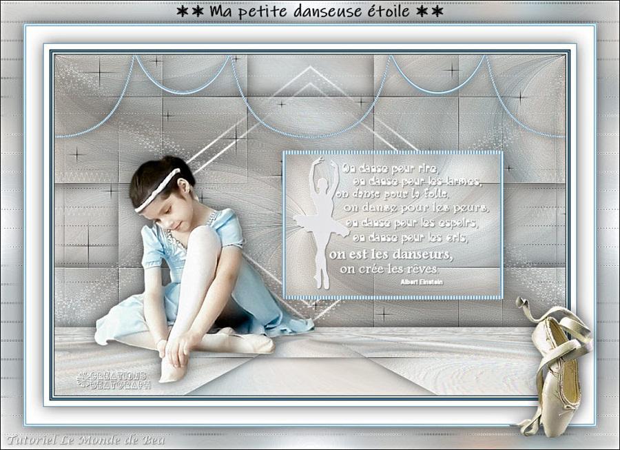 Ma petite danseuse étoile