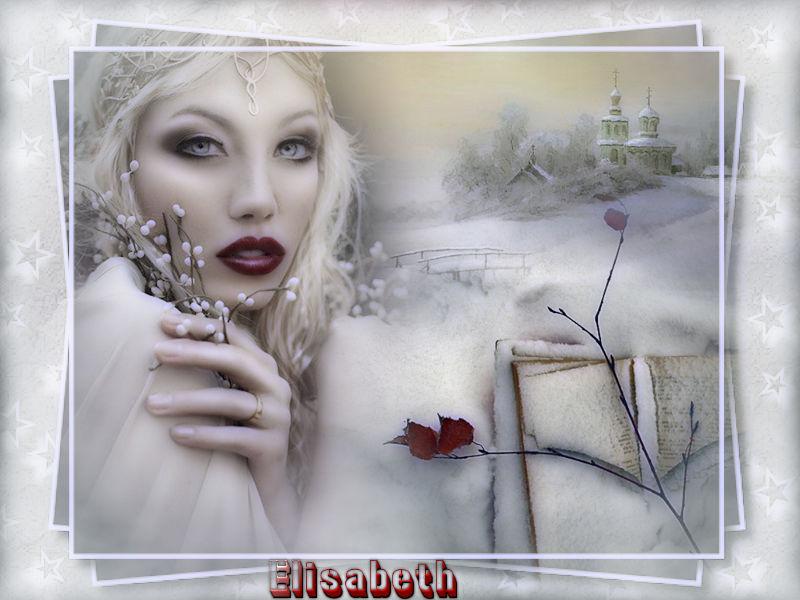 "Ma réalisation du tuto ""Winter Princess"""