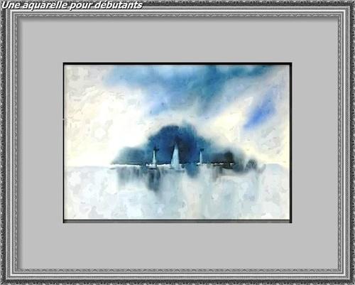 Dessin et peinture - vidéo 2889 : Comment peindre une aquarelle pour débutant ?