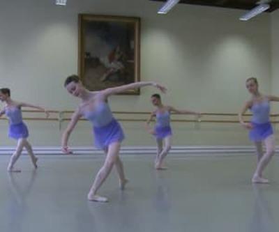dance ballet class pointes ballet flowers  vaganova ballet