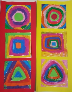 Rond (euh, cercle / disque), Carré, Triangle, selon Access