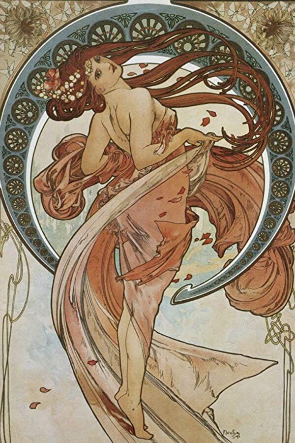 Peinture de : Alfons Mucha