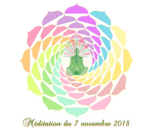 méditation du 7 novembre 2018