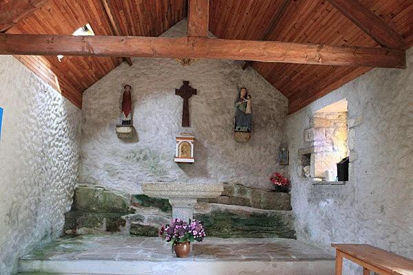 Lanildut intérieur de la chapelle