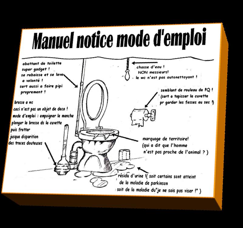 Manuel notice mode d'emploi (Humour)