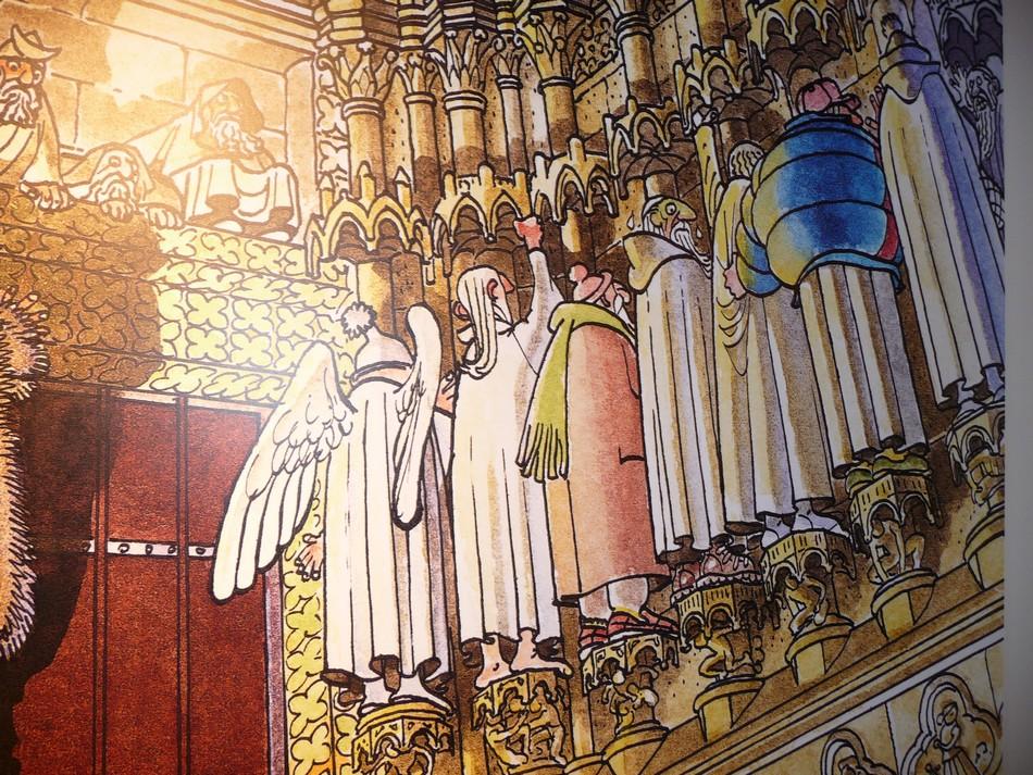 La Cathédrale et le Neuvième Art