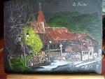 Peinture sur ardoise