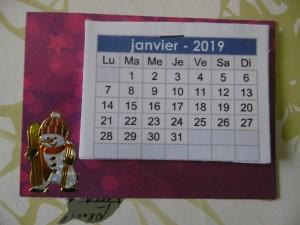 "Echange ATC ""calendriers"""