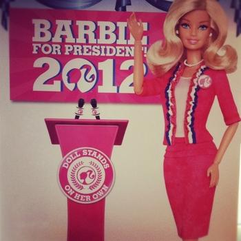 Barbie présidente 2012