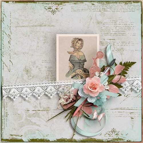 Mrs Butterfly by dentelle scrap