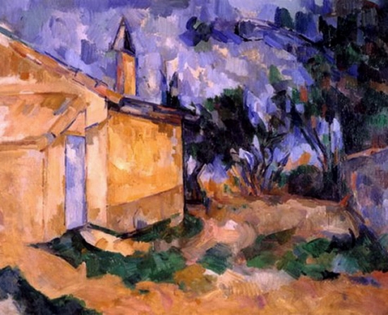 Paul Cézanne, Le cabanon de Jourdan