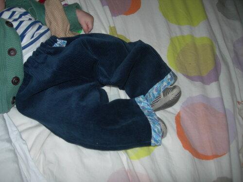 Pantalon auto pour PiouPiou d'hiver