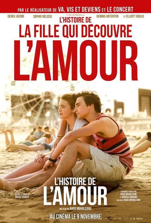 Faites la connaissance de la fille qui découvre l'amour // L'HISTOIRE DE L'AMOUR, le mercrredi 9 novembre 2016 au cinéma