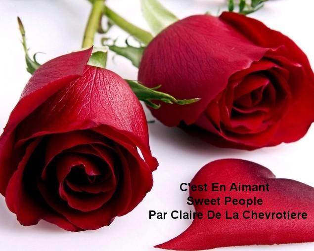 C'est En Aimant     Sweet People  Par Claire de La Chevrotiere