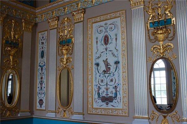 Russie: le Palais Catherine à Tsarskoe Selo (1)