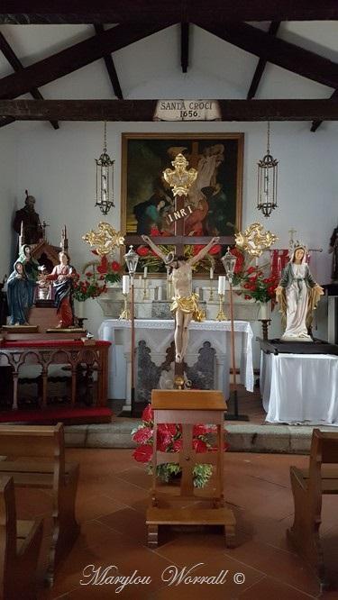 Corse : Porto Vecchio, Chapelle de la Sainte Croix
