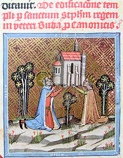 Bienheureuse Gisèle de Bavière. Epouse de saint Etienne de Hongrie et mère de saint Emeric († 1060)