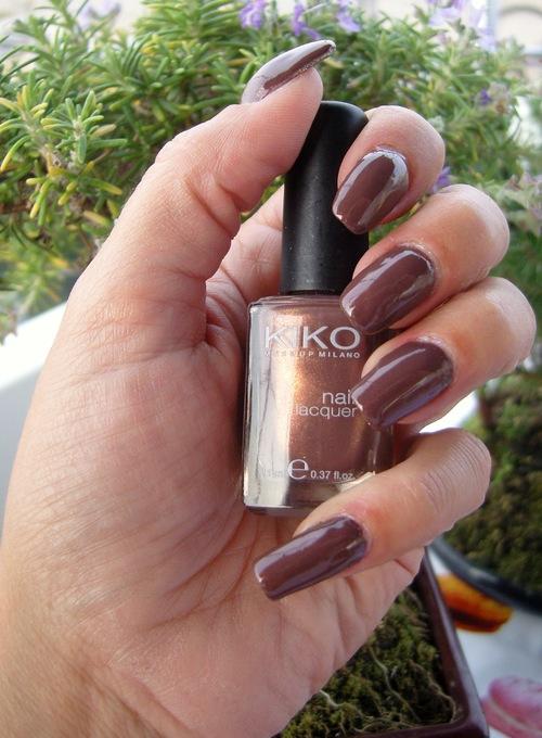 Swatch : Kiko - Burnt Sienna - n° 373