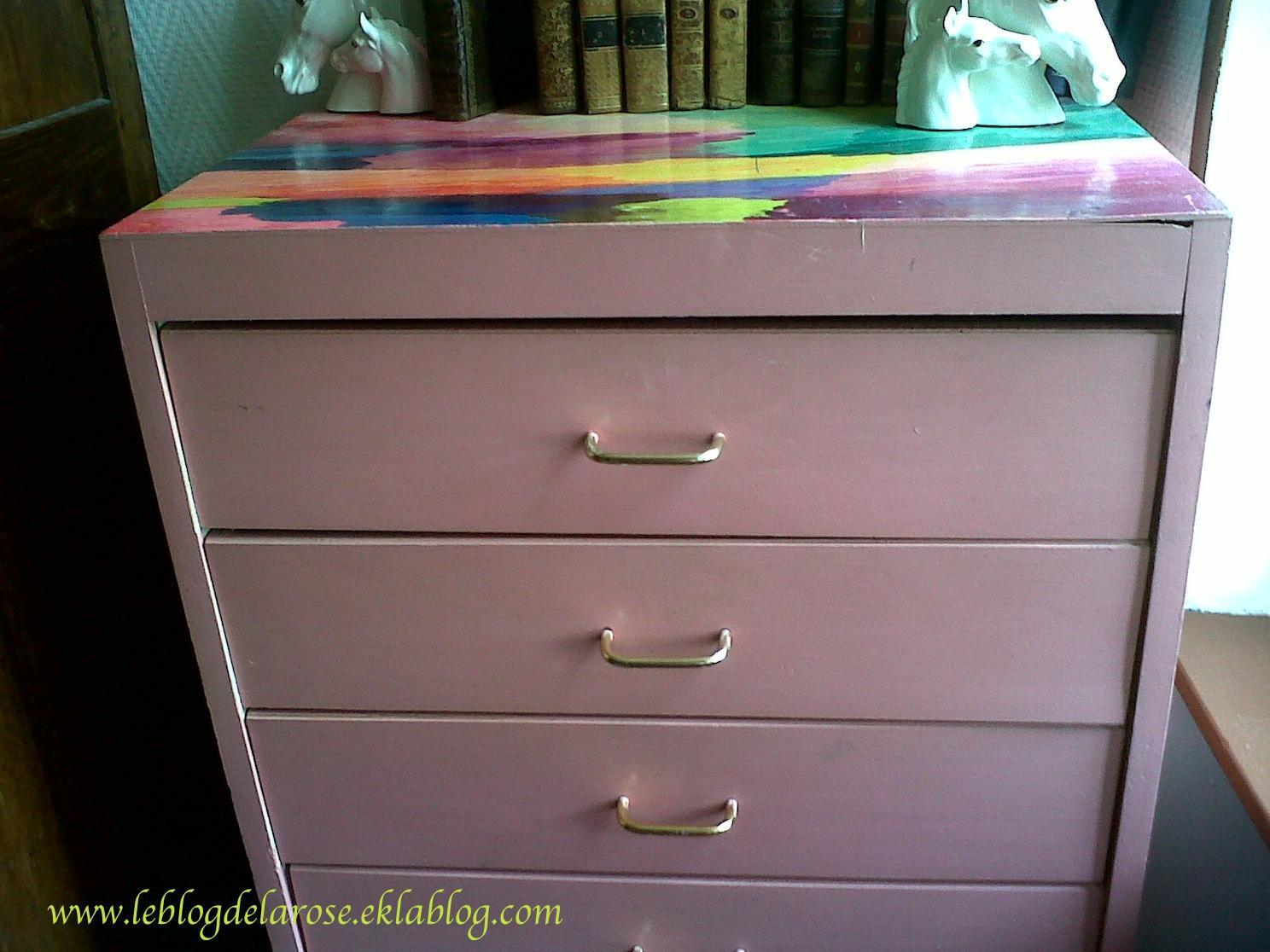 ma commode romantique my romantic dresser le blog de semper rose. Black Bedroom Furniture Sets. Home Design Ideas