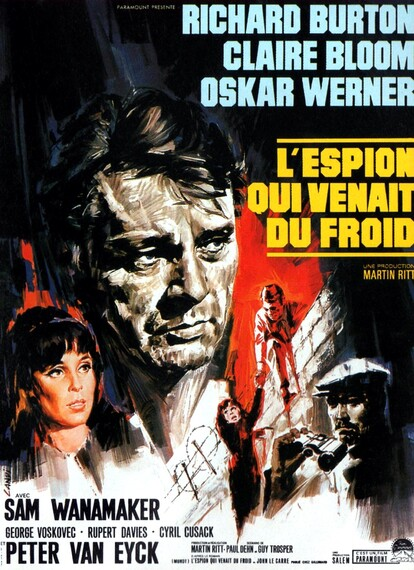 L'ESPION QUI VENAIT DU FROID BOX OFFICE 1966