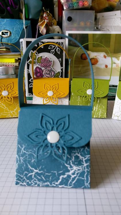 atelier chez Claudine : les cadeaux !
