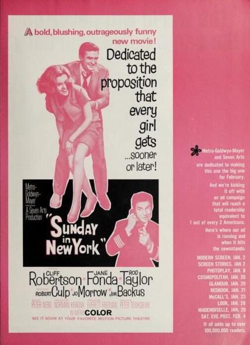 BOX OFFICE USA DU 10 FEVRIER 1964 AU 16 FEVRIER 1964