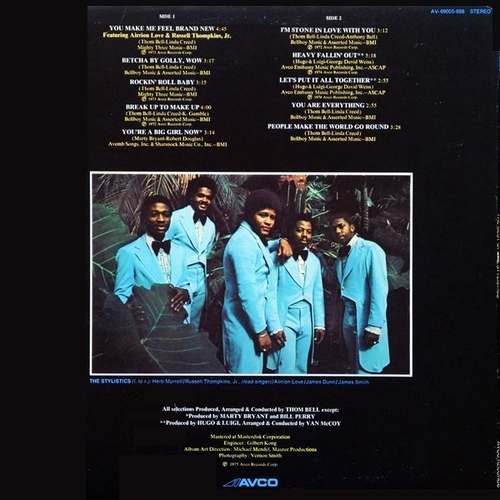 "The Stylistics : Album "" The Best Of The Stylistics "" Avco Records AV-69005-698 [ US ]"