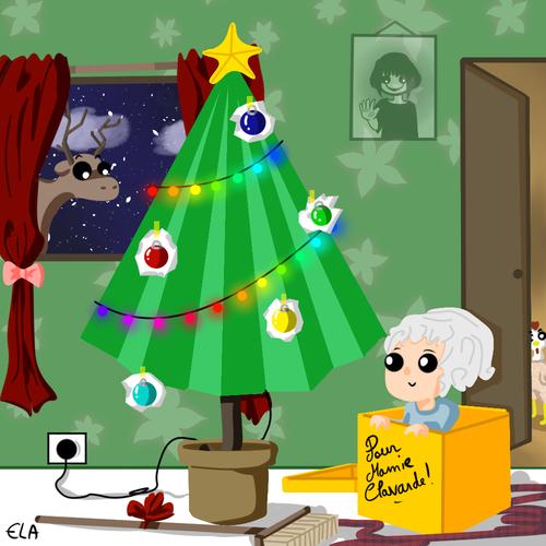 Pour Mamie Clavarde Noël