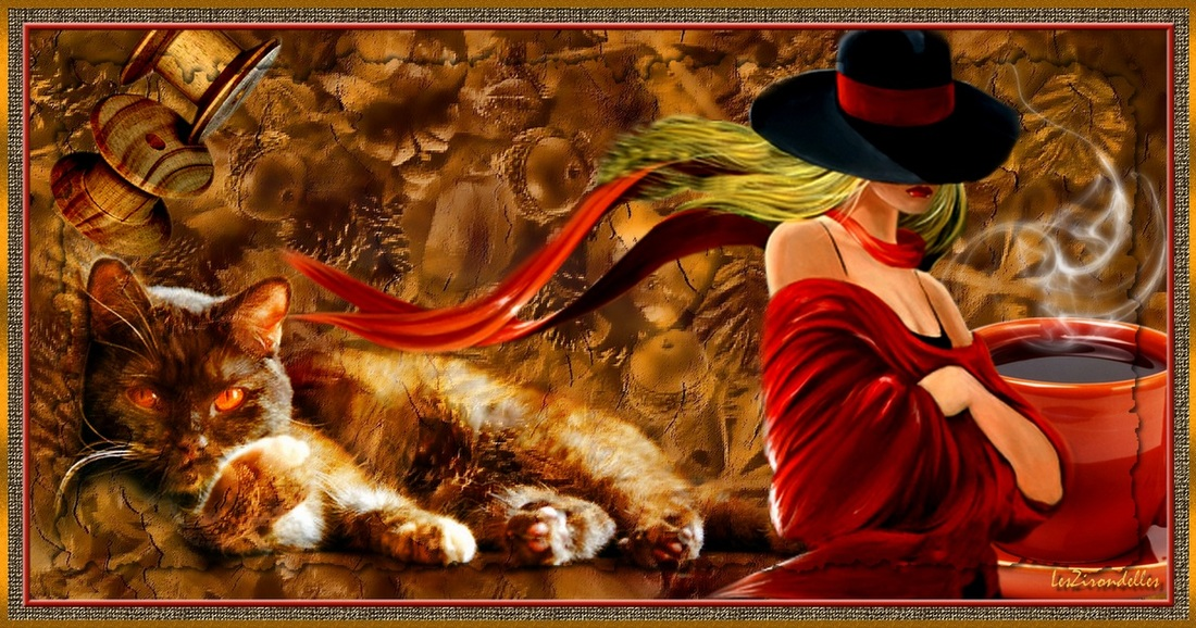 Entêtes automne / Cocooning cat