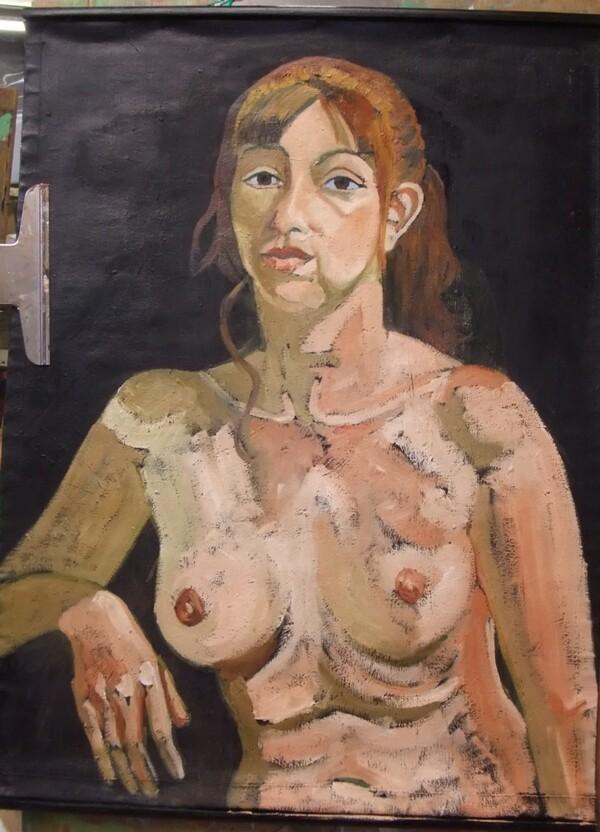 Jeudi - Portrait à l'huile (1 et 2)