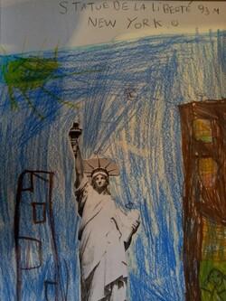 Arts et voyage : la statue de la Liberté