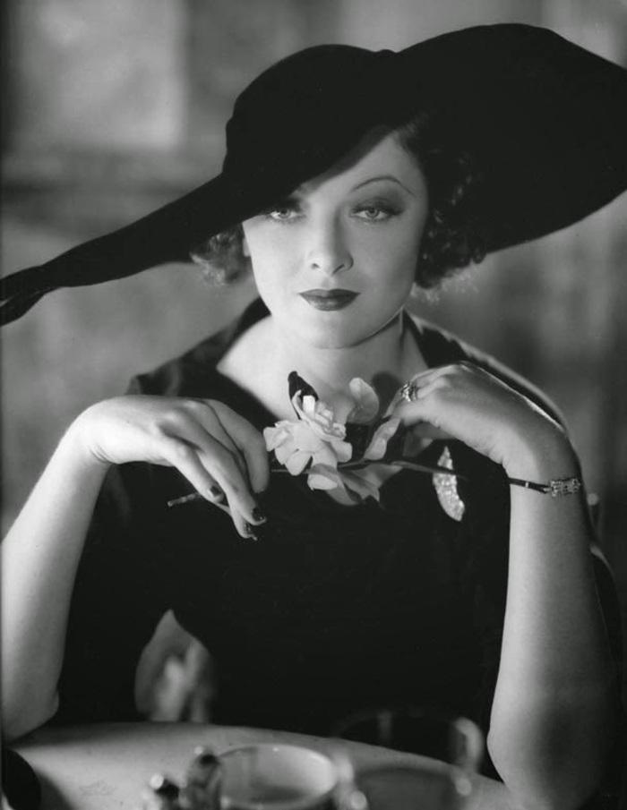 Myrna Loy by Ted Allan c.1934
