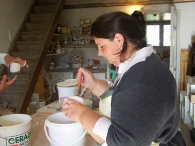 Blog de chipiron :Un chipiron dans les Landes, Un dimanche de poterie