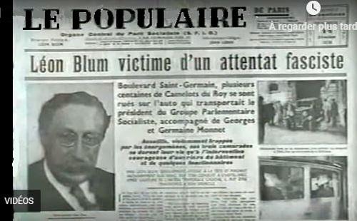 1934... La conspiration de l'extrême-droite française