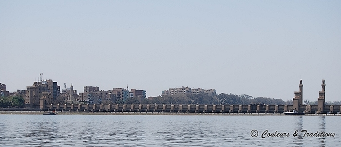 Le Nil jusqu'au barrage