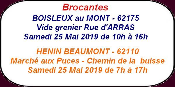 Les loisirs à Arras et ses environs du 24 au 26 mai.