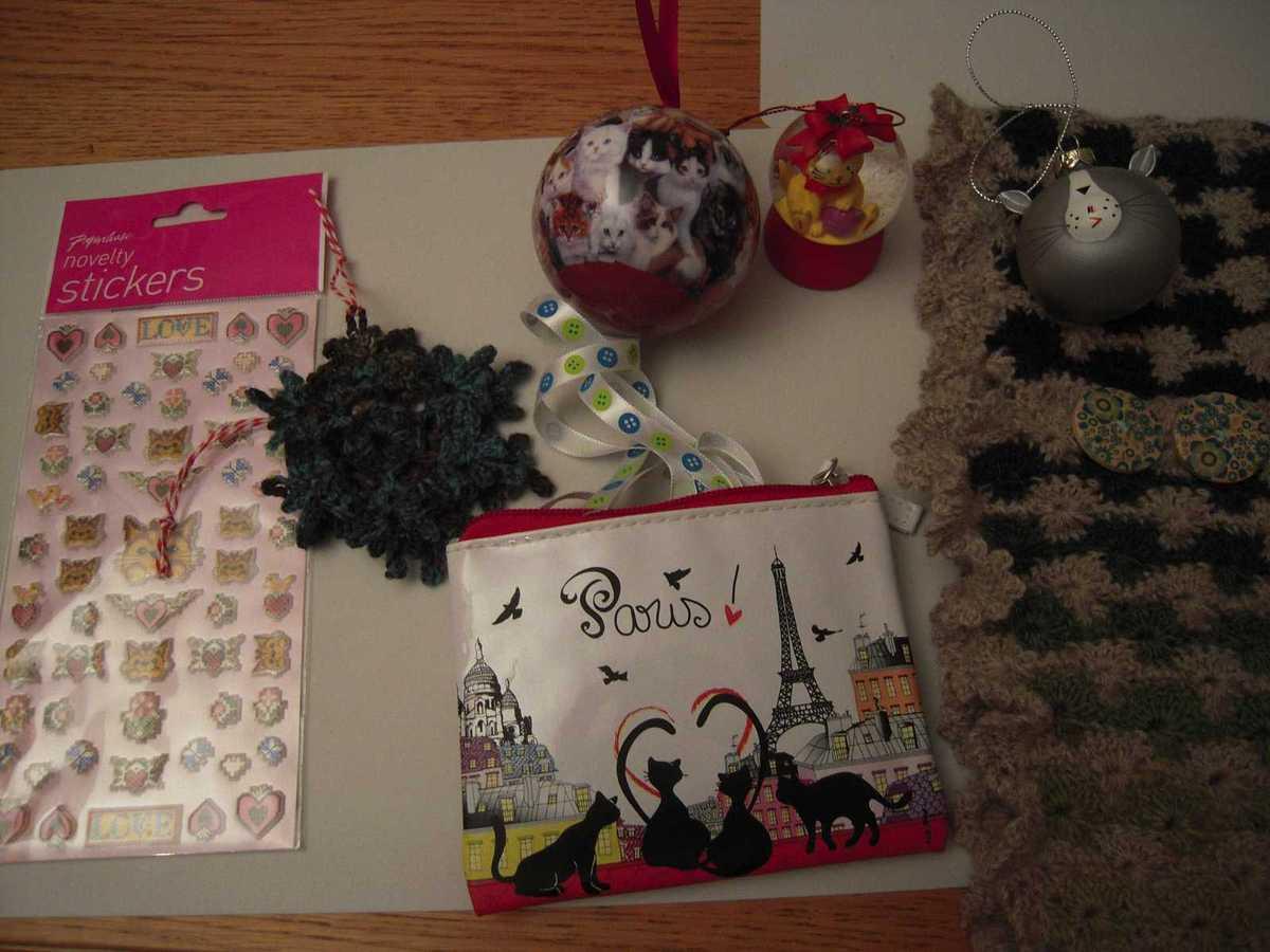 Avalanches de cadeaux !!