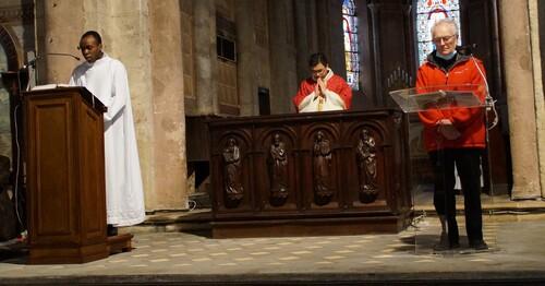 La cérémonie du Vendredi Saint