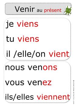 Conjugaison ce1 ce2 lecons exercices affiches webecole - Conjugaison colorier ...
