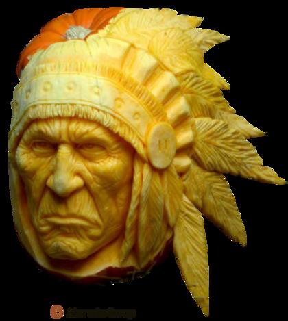 les jolies citrouilles d'halloween